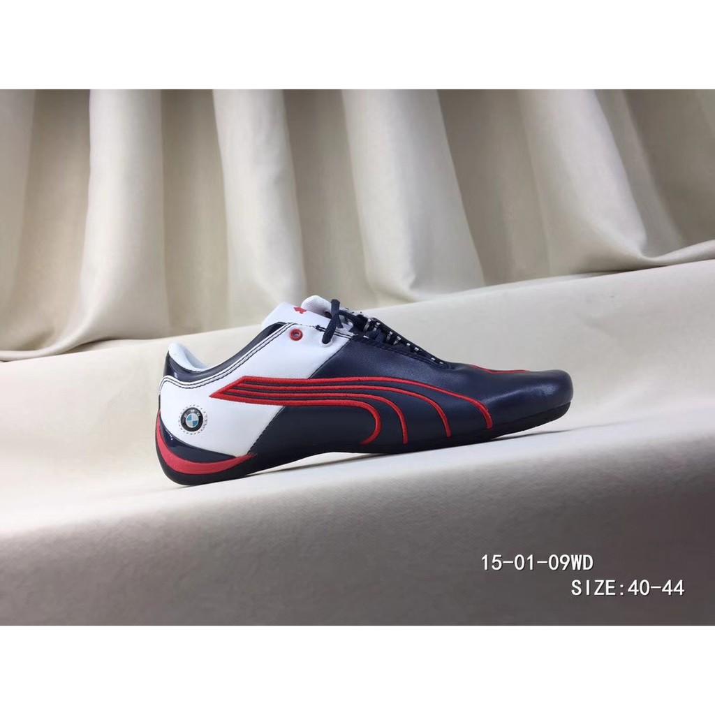 Alin hinta Alin hinta sävyt Hot fashion 100% Ori PUMA shoes Future Cat Leather SF BMW Shoes blue casual  Kasut