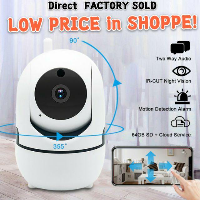 Home Security HD IP Camera Wireless Smart WiFi Audio CCTV