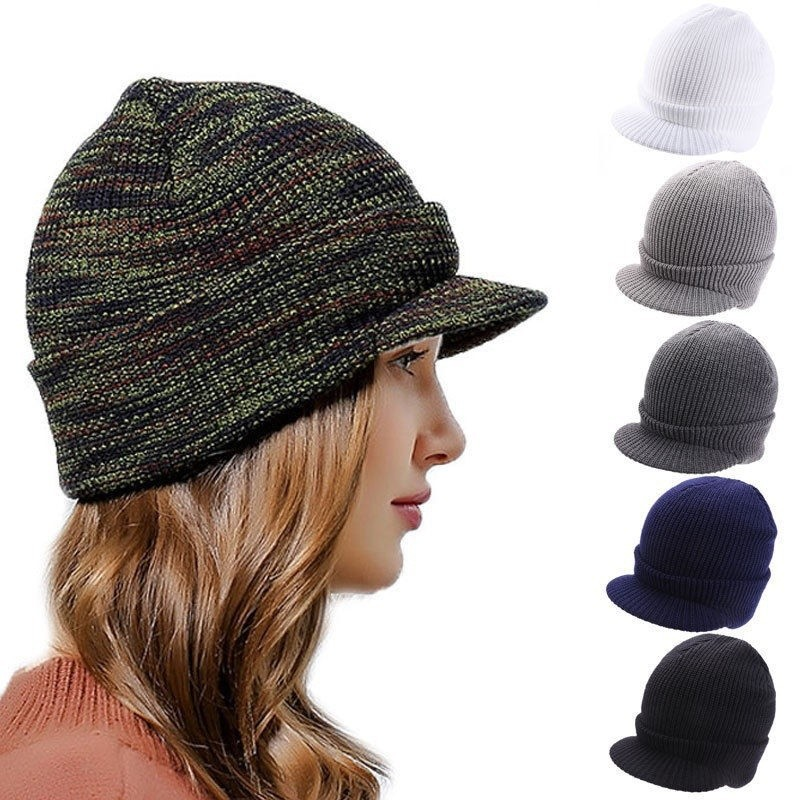 WomenKnit Baggy Beanie Winter Hat Ski Slouchy Chic Knitted Cap