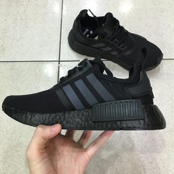 adidas nmd boost triple black