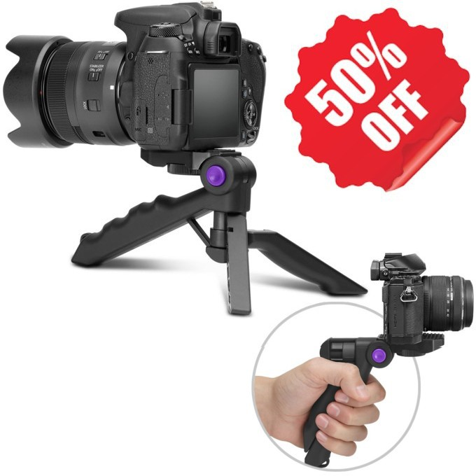 Camera Tripod Holder, Portable DSLR Camera