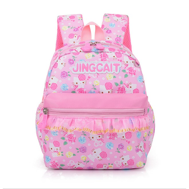 872ae54912 ProductImage. ProductImage. Kid Children Girl Hello Kitty School Backpack  School bag ...