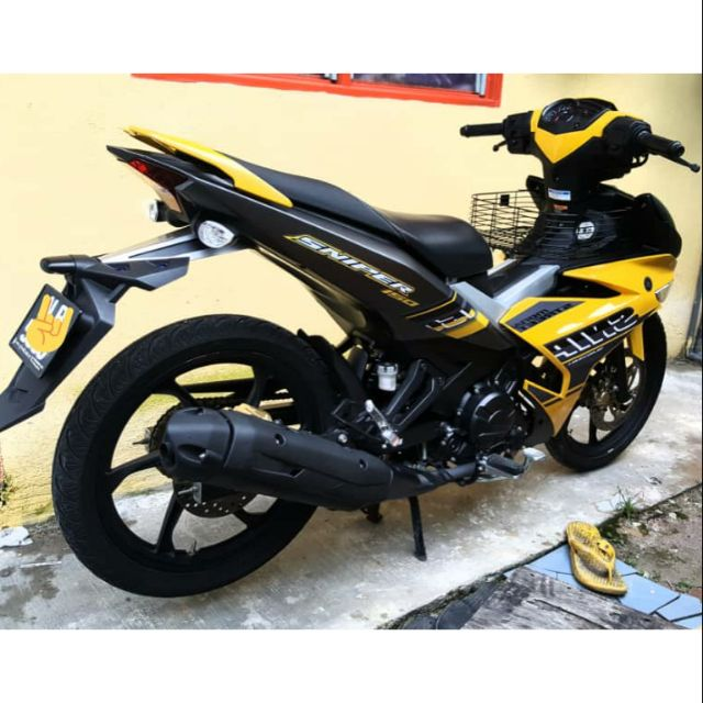 Coverset Y15zr Sniper Yellow Hornet Sticker Tanam Shopee