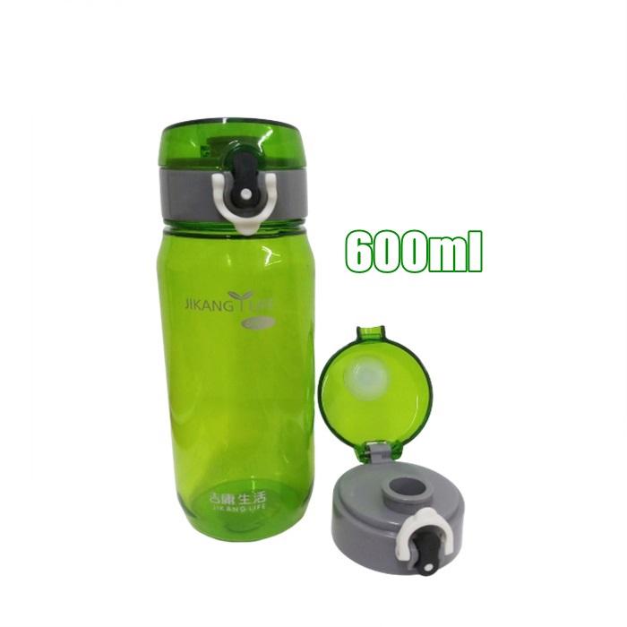 MALAYSIA] 600ML BOTOL AIR PLASTIK BPA FREE/ Plastic Water Bottle 600ml
