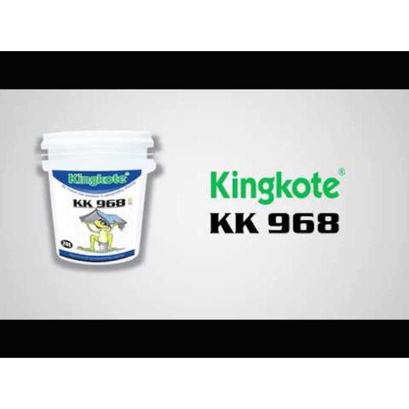 Elastic Waterprrofing Coating (2L/5L) Kingkote KK968 High Elastic Waterproofing Coating 高弹性防水膜涂料