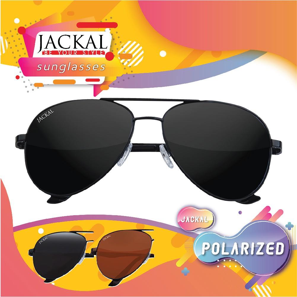 Jackal Sunglasses รุ่น Shipmaster JS202-JS203 เลนส์โพลาไรซ์ พร้อมอุ
