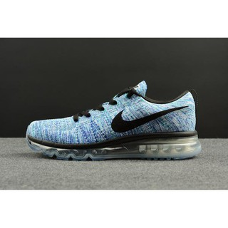ce7ee73b66bf ... Men s Nike Flyknit Air Max Running Shoes  White Black Chlorine Blue  Concord . like  0