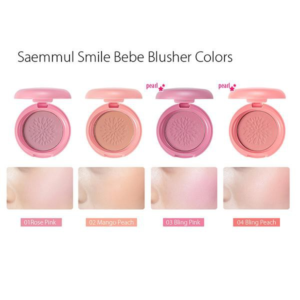 [THE SAEM] Saemmul Smile Bebe Blusher 6.5g