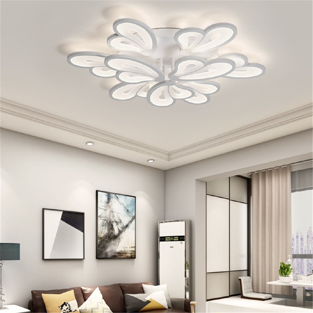 ⌘⌘Butterfly Acrylic LED Ceiling Light Pendant Lamp For Modern Living Room