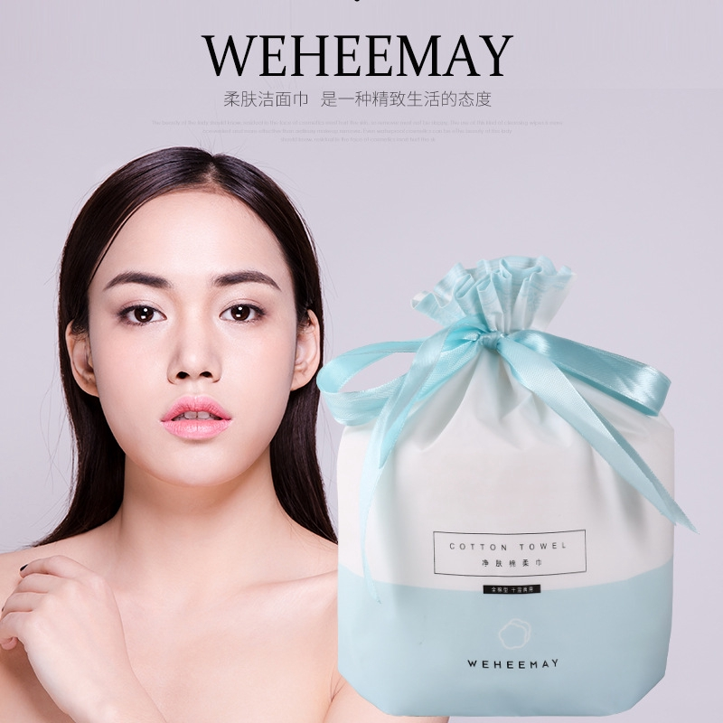 Only xi natural detox One-Time Thick Makeup Cleansing Wipe Face Towel Package