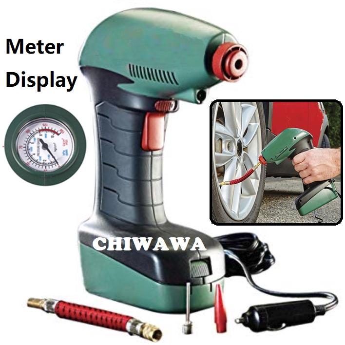 【Digital LED Screen / Meter】Air Compressor Auto Car Tire Inflator Balls Mattress Toys Pump Emergency Tool 1