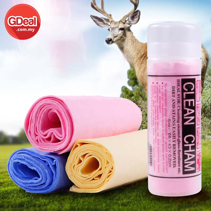 GDeal Multipurpose Quick-drying Towel Strong Absorb Water Clean Cham Cloth For Sport Baby Car Furniture Saloon Pet