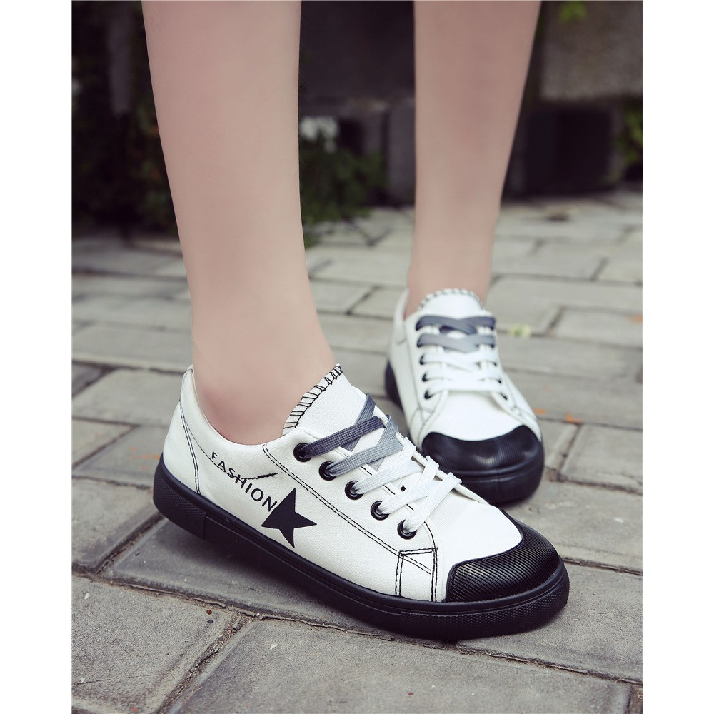 Ulzzang Korean Style Riveted Female Autumn Shoes Moccosins Hijau D Island Sneakers High Arl New Reborn Comfort Red Ready Stocksuede Womens Sport Tops Shopee