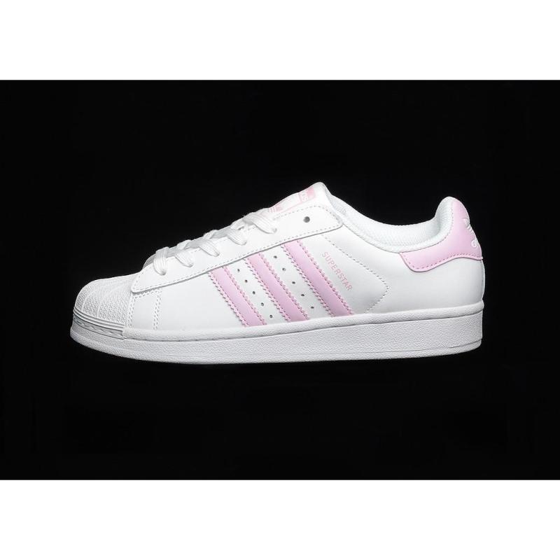 Adidas_original clover superstar shell head cherry blossom powder women's shoes 36 39 2019