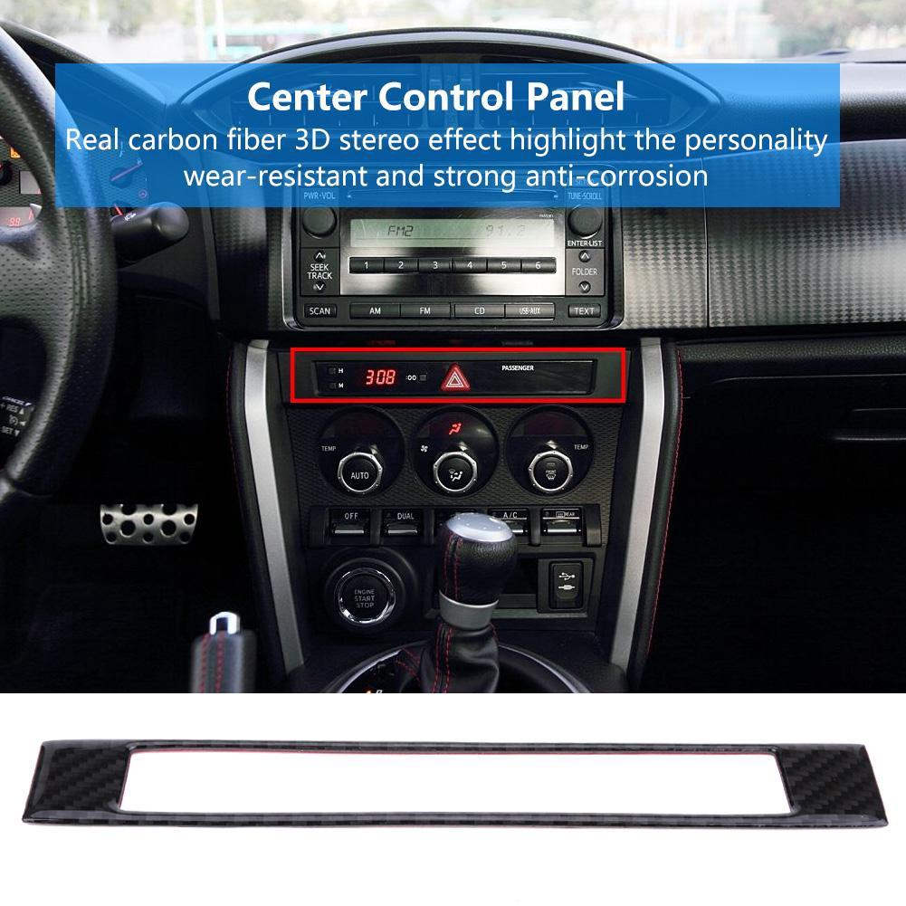 Car Center Control Decoration Panel Strip Cover Trim Stickers Toyota