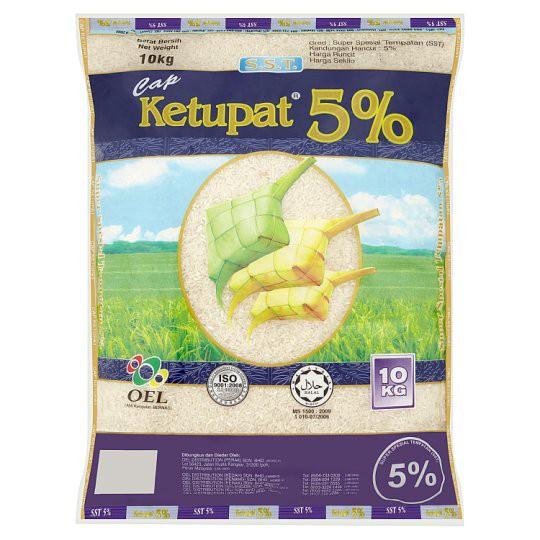 Cap Ketupat Super Spesial Tempatan 5% Rice 10kg
