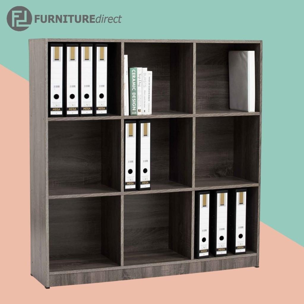 ECO 9 cubes storage cabinet/ filling cabinet/ bookcase/ rak buku/ 书架