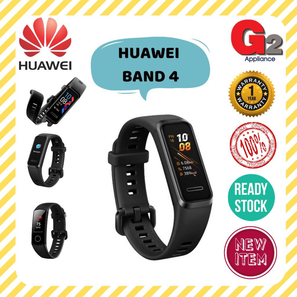 HUAWEI BAND 4 SMART WATCH WRISTBAND-HUAWEI WARRANTY MALAYSIA