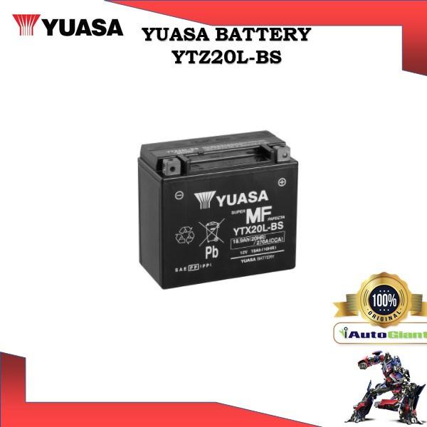 YUASA BATTERY YTX20L-BS SHOGUN BRAND VRLA