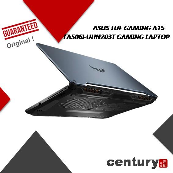 Asus Tuf Fa506i Uhn203t Gaming Laptop Amd Ryzen 7 4800h 8gb Ram 512gb Ssd Gtx1660ti 6gb G6 15 6 Fhd Ips 144hz W10 Shopee Malaysia