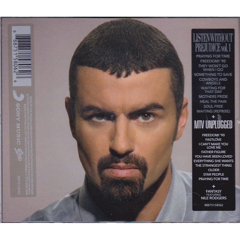 GEORGE MICHEAL - Listen Without Prejudice Vol 1 CD+DVD MTV UNPLUGGED