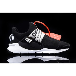 c405ff27bb44 The Ten +1」Off White x Nike Sock Dart Knitted Shoes Limited Ribbon ...