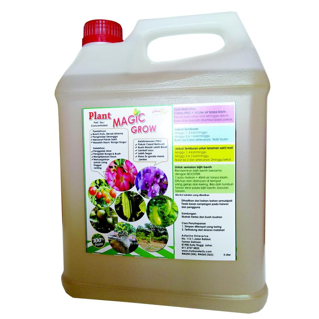 AzfaRich Plant Magic Grow Concentrated (Pati Baja Organik), 5 Liter