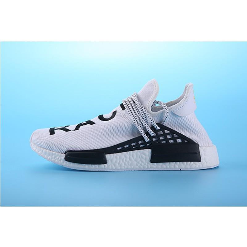 27eefb9a7 Hot Sale Adidas Pharrell Williams Shoes x Adidas NMD Human Race green white