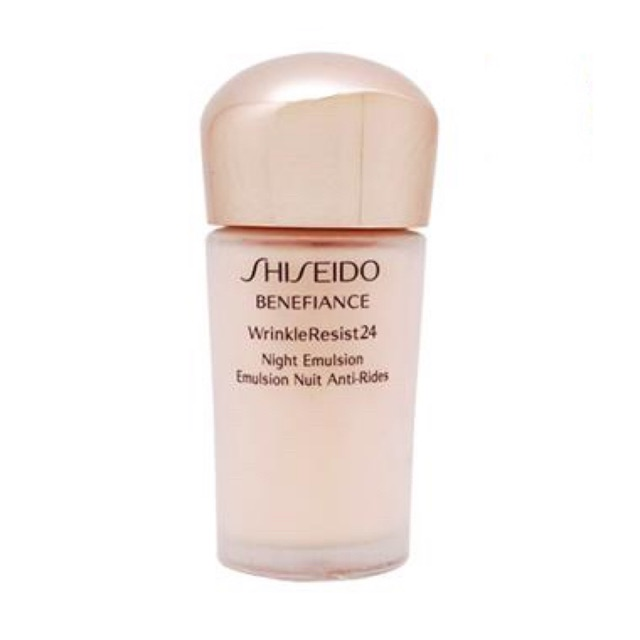 Image result for shiseido benefiance night emulsion 15ml