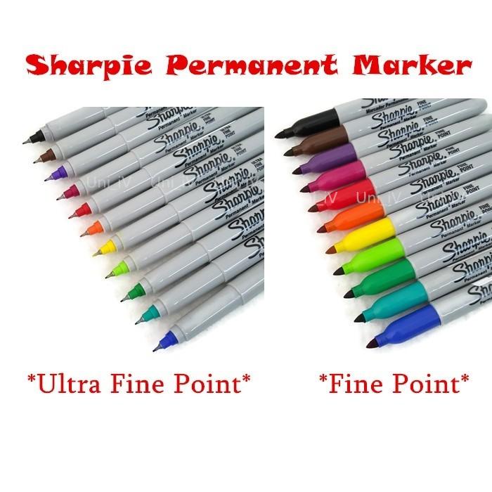 Sharpie Fine Point / Ultra Fine point Permanent Marker - READY STOCK