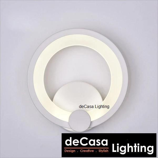 DECASA Modern Concept LED Wall Light 10W Lampu Hiasan Dinding - Warm White (803-804)