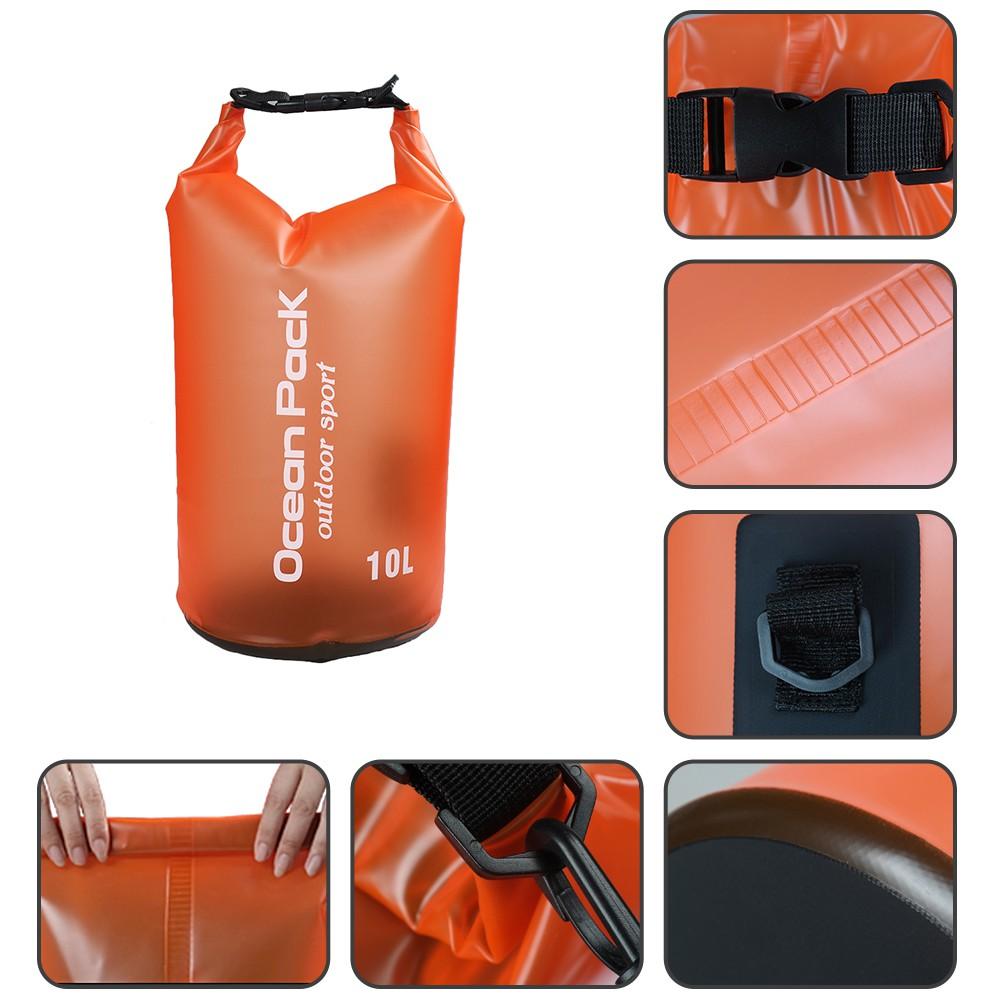 5L 8L Outdoor Kayak Drifting Diving Beach Lightweight Rubber Waterproof Storage Bag 3 Pack Waterproof Dry Bag 3L