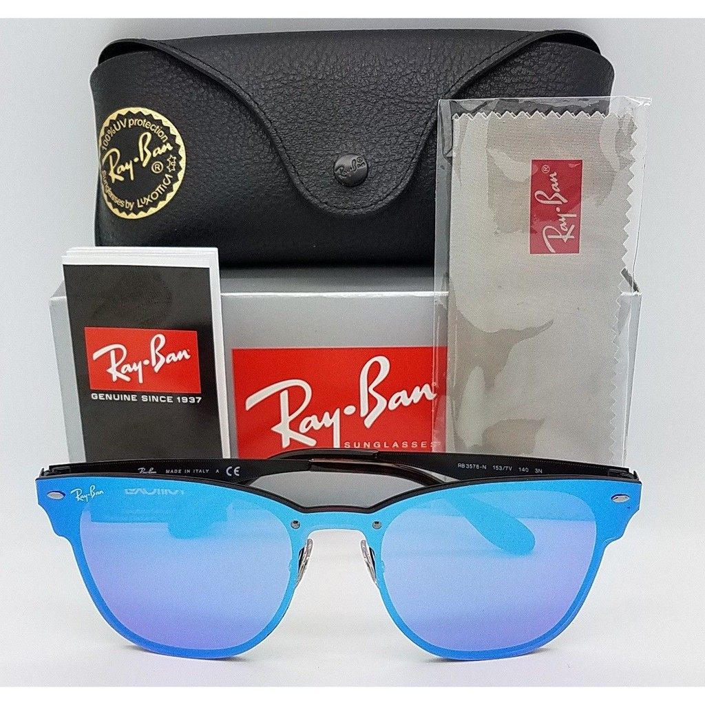 d93bb6edc11 Ray-Ban RB3576N Sunglasses Rayban Blaze Clubmaster RAY144