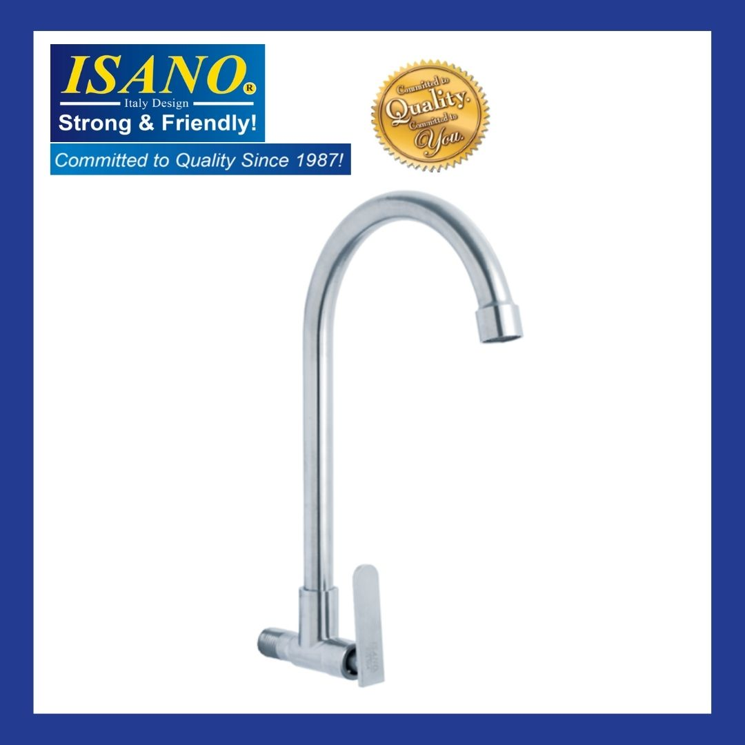 ISANO Kitchen Faucet WALL SINK TAP - 1000SS