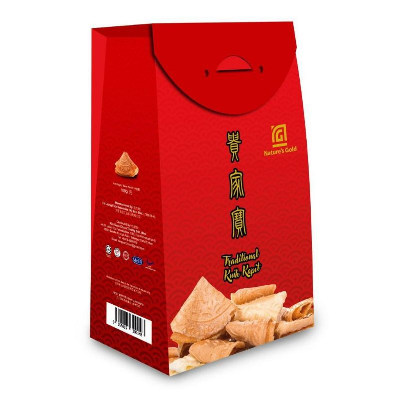 (READY STOCK)Nature Gold Traditional Kuit Kapit 100g