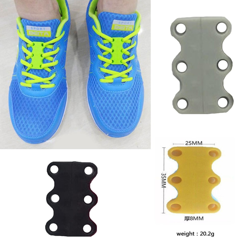 17a2c658efa4 10PC shoelace Tight outdoor Grenad Compact Anti-skid buckle