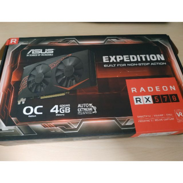 ASUS EXPEDITION RADEON RX570 OC 4GB Graphic Card