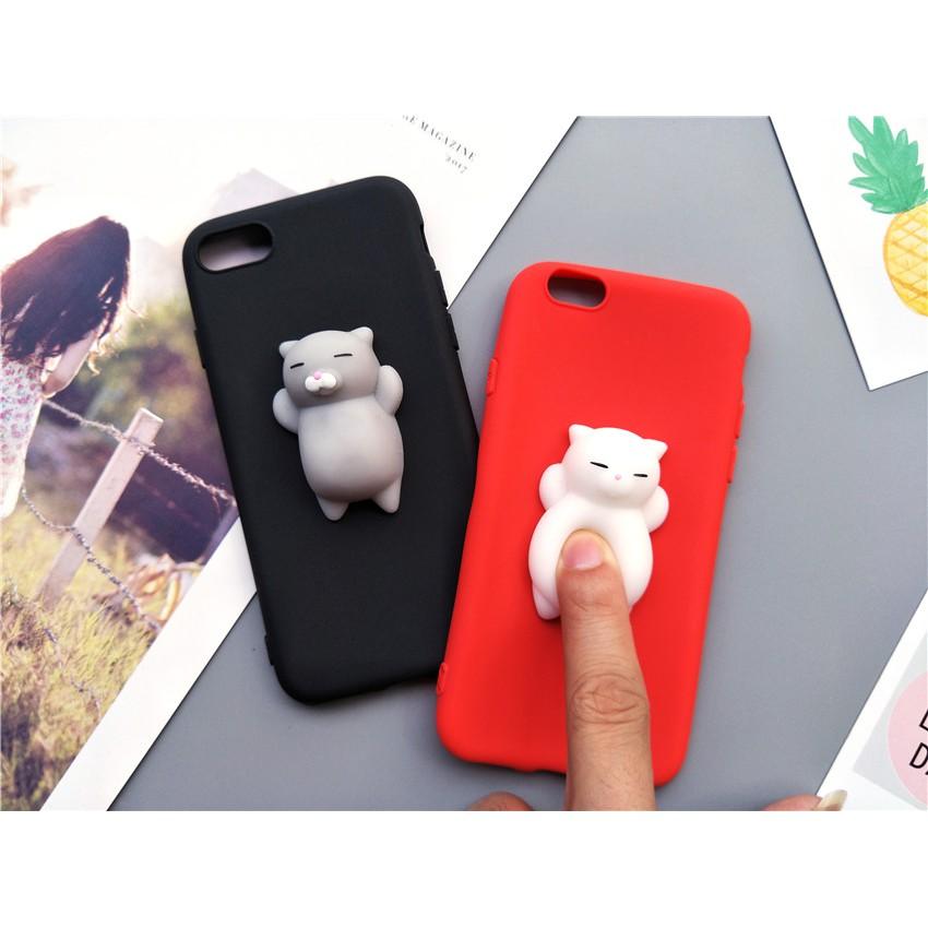 outlet store fe9cd b8e32 VIVO Y66 Y67 Y69 Y79 Y85 Y75 V5 V7 V9 Cute Cat Soft Cartoon Phone Case TPU  Cover
