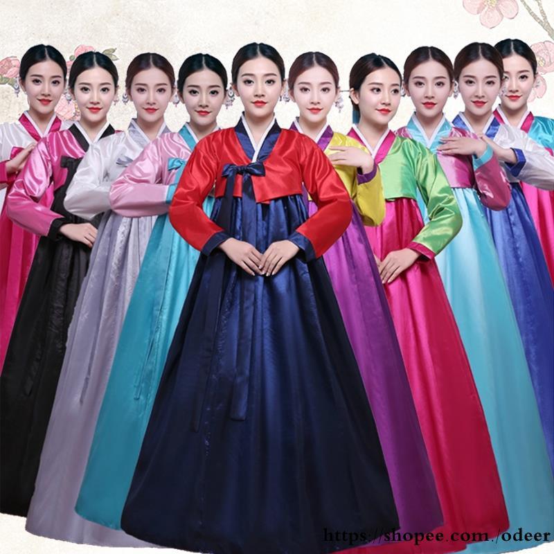 340249602 Sequins big swing skirt Korean traditional court costume Hanbok female  Korean na | Shopee Malaysia