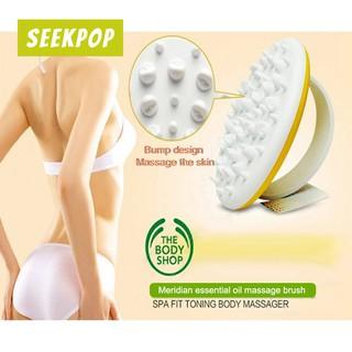 Soft Massage Brush Remove Cellulite Spa Bath Exfoliate Massager Body Brush Shopee Malaysia