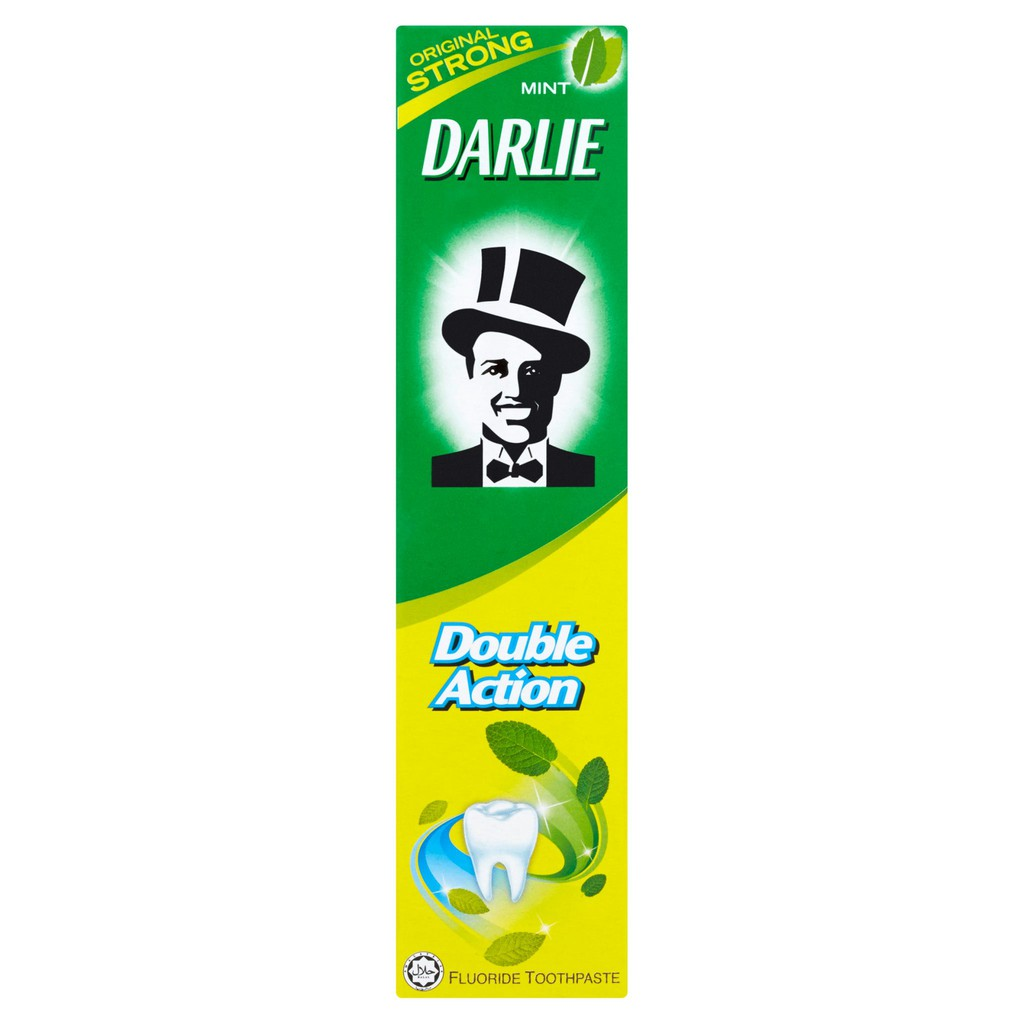 Darlie Double Action Fluoride Toothpaste Original Strong Mint (50g)