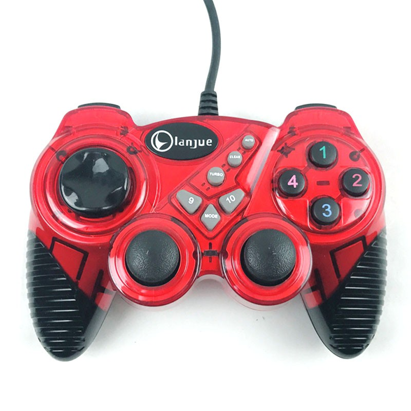 Wired game controller wired joystick USB mini gamepad handle controller