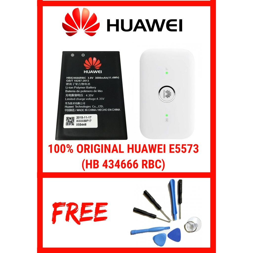 [CPE] HUAWEI 100% ORIGINAL MIFI E5573 1500 MAH (HB 434666 RBC)