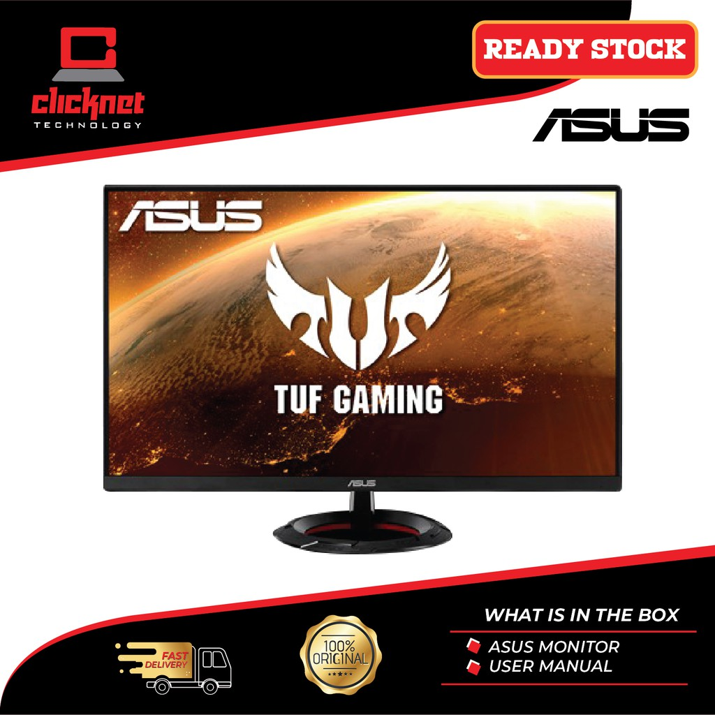 Asus Tuf Gaming Vg279q1r Gaming Monitor 27 Inch Full Hd 1920 X 1080 Ips 144hz 1ms Mprt Extreme Low Motion Blur Shopee Malaysia