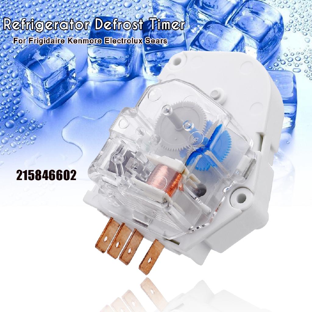 2PCS Refrigerator Freezer Defrost Timer For Frigidaire Kenmore 215846602