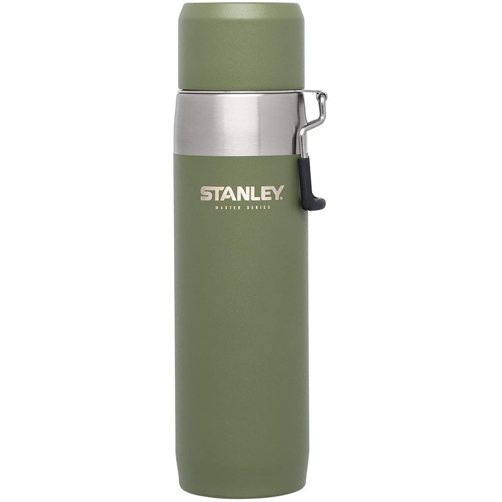 STANLEY Master Series Water Bottle | 22 oz / 650 ml (Olive Drab)
