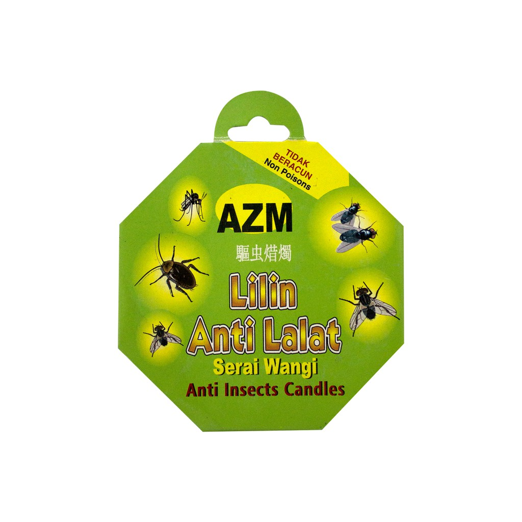 Azm Anti Insects Candles 80g