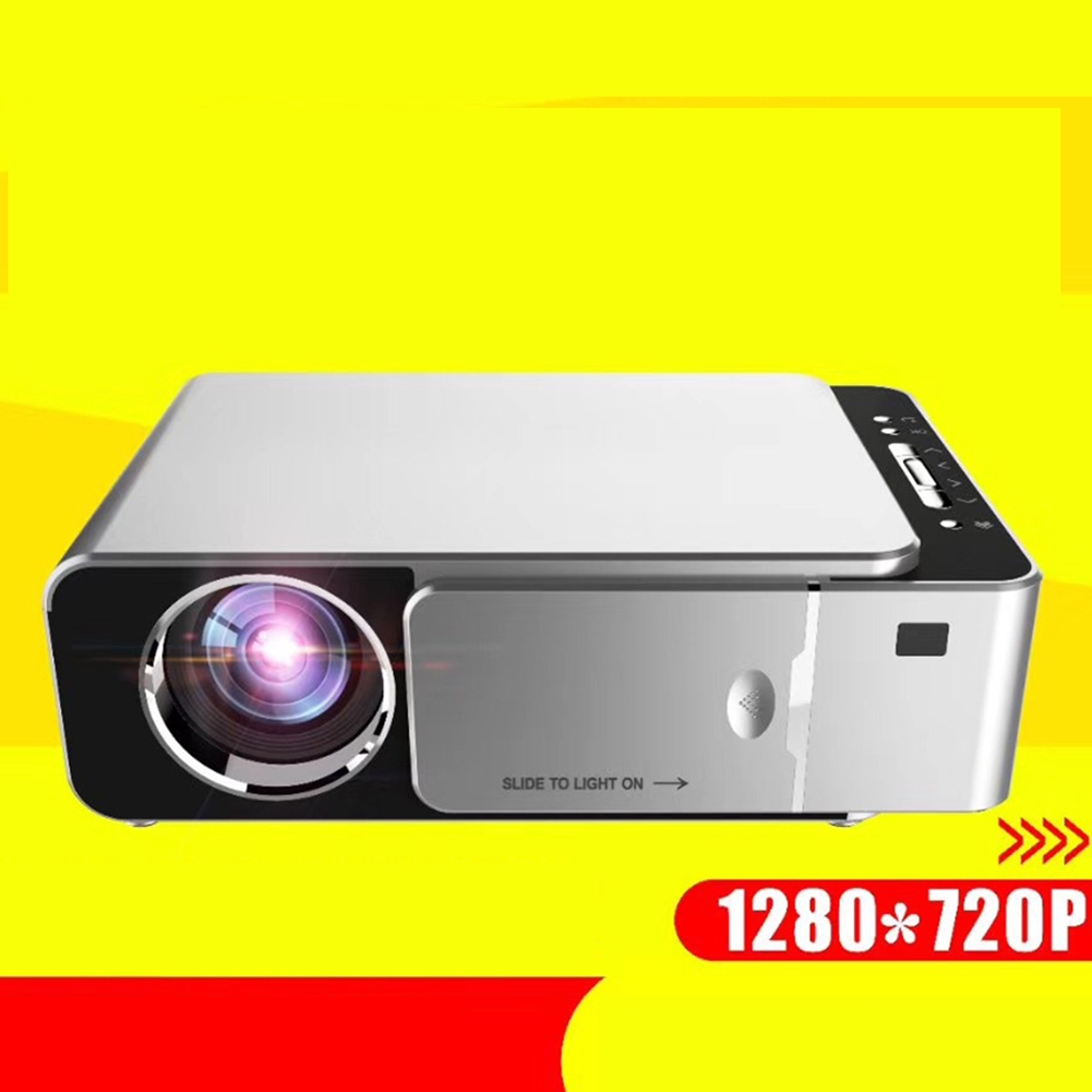 T6 Portable Short Throw Office Projector Full HD Clear Home For Android
