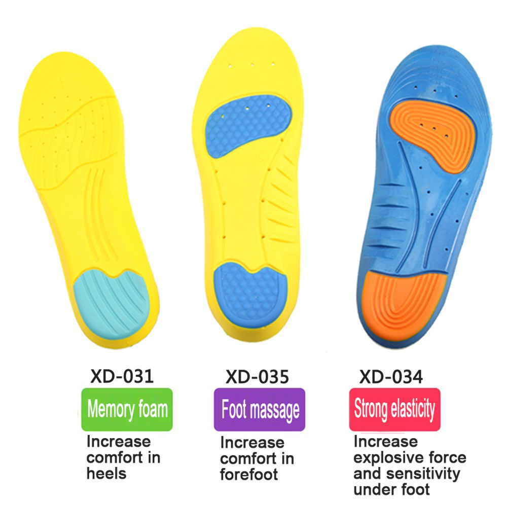 ad7a921db9 ProductImage. ProductImage. PU Memory Foam Sport Insoles Sweat Absorption  Arch Insert Breathable Foot Care