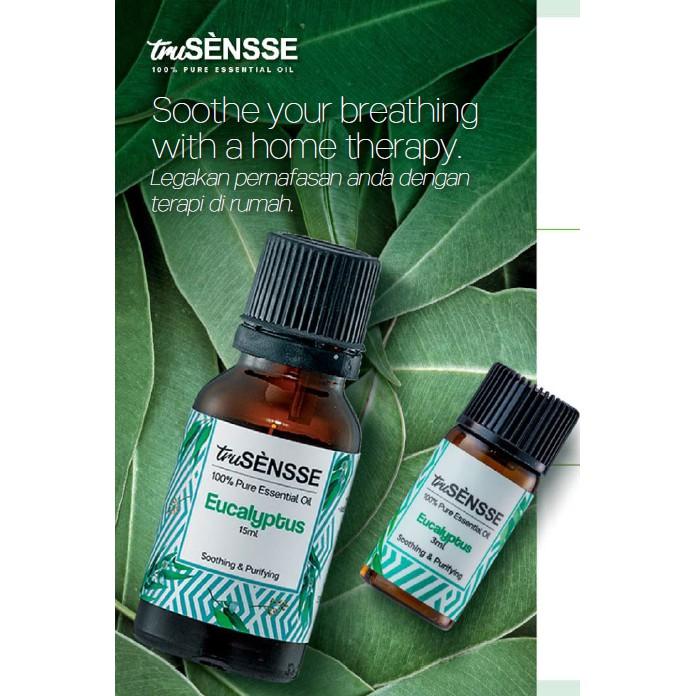 Tupperware truSensse 100% Pure Essential Oil Eucalyptus 3ml or 15ml / Eucalyptus EO
